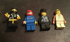 Lot Of 4 Lego Men LEGO people Four Complete Mini-figures LEGO Toys Collectibles