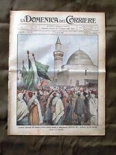 La Domenica del Corriere 9 Marzo 1913 Minareto di Homs Ferrovia Pres. W. Wilson