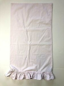 Simply Shabby Chic STANDARD PILLOW Case Pink Ruffle Cotton 18x31