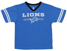 OuterStuff NFL Youth Boys Team Color Mesh Jersey, Detroit Lions