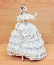 "Royal Worcester Victorian Era Series ""The Fairest Rose"" Limited Edition Figure."