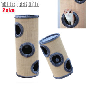 Pet Cat Tree Trees Scratching Post Scratcher Cats Tower Condo House Toy 70~100CM