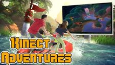Xbox 360 Console Game - Kinect Adventures -YOU ARE THE CONTROLLER+VOICE CONTROL
