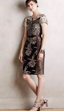20. Anthropologie Embroidered Brocade Dress by Byron Lars, Size 10