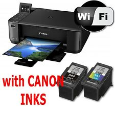 04 CANON Pixma MG4250 All in One WIRELESS PRINTER SCANNER COPIER + used Inks