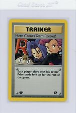 Here Comes Team Rocket Holo - 1st Edition - Team NM 15/82