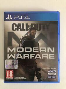 call of duty modern warfare ps4 PERFETTE CONDIZIONI