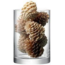 LSA Column Clear Vase 24cm by 17cm