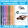 Iguana Golf Classic Velvet Paddle Putter Grip - All Colours + Free Tape