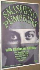 Smashing Pumpkins MEGA-RARE 1992 LIVE GIG POSTER Billy Corgan 25 YEARS OLD/MINT!