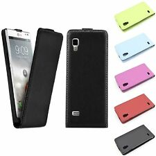 CUSTODIA COVER FLIP CASE MAGNETICA ULTRASLIM LG 9 OPTIMUS L9 P760 CALAMITA