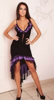 New Ladies Womens Latin Cocktail  Party Evening Wedding Sexy Lace Prom Dress