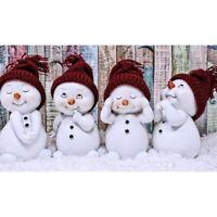 Christmas Gifts Festival Decor Full Drill 5D Diamond Painting Kits Snowmans Art