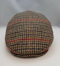 High Quality Brooklyn Flat Cap Herringbone Tweed Hat Mens Gatsby Newsboy  Hat .