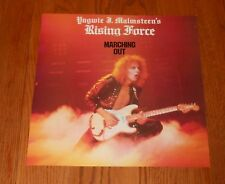 Yngwie Malmsteen Rising Force Marching Out Poster Flat Square Promo 12x12