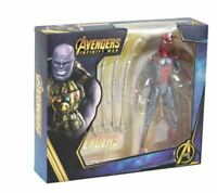 Avengers Infinity War Spiderman Action Figure PVC Collectible Model Toy Kid Gift