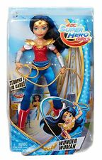 "DC Comics Super Hero Girls 12"" Wonder Woman W/ Student ID Card  6+ new"