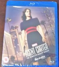 Marvel's Agent Carter Season 2 Blu-ray Hayley Atwell Region Free New.