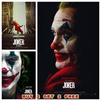 BATMAN 1989 Movie Poster Michael Keaton The Joker A5 A4 A3 Bedroom Film Print
