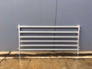 1000 x 2100mm Heavy Duty Galvanized Goat Sheep AlpacaYardFence Panels