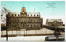 Postkarte - RUßDORF - Oberfrohna Schule u. Turnhalle