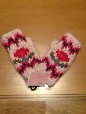 Acrylic Fingerless Gloves for Girls