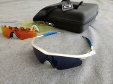 Oakley Pro M Frame FMJ w/ Ice Iridium Lance Armstrong + Red and Yellow Lenses
