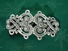 Renaissance Style Closure, Handcrafted in Fine Lead-Free Pewter