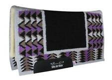 Professional's Choice Barona Black Purple Contoured Air Ride Saddle Pad Pro Prof