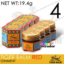 Tiger Balm RED Ointment Warm relief 19.4g 4PCS