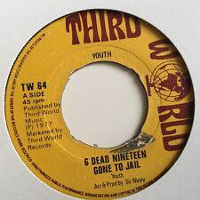 Youth; 6 Dead 19 Gone To Jail / Obsever Strike - Headline THIRD WORLD TW 64 1977