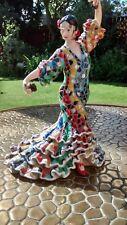 Barcino Mosaic Spanish Flamenco Dancer Figurine