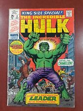 Hulk   King-Size Special #2  1969  Origin issue...  Kirby...