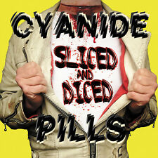 Cyanide Pills - SLICED AND DICED LP **PINK VINYL** PUNK/ NEW WAVE