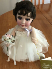 Franklin Mint Elizabeth Taylor Porcelain Portrait Baby Doll 11803