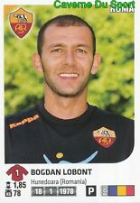 411 BOGDAN LOBONT ROMANIA AS.ROMA STICKER CALCIATORI 2012 PANINI
