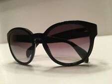 Prada Women's Sunglasses Black SPR 18R size 56/19/140 *EUC*