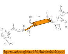 TOYOTA OEM 2014 RAV4 2.5L-L4-Exhaust System-Muffler Tail Pipe 1742036181