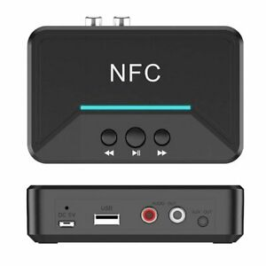 BT200 NFC Bluetooth Empfänger Adapter Audio Musik Wireless 3.5mm RCA HiFi
