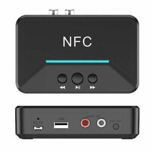 BT200 NFC Bluetooth Empfänger Adapter Audio Musik Wireless 3.5mm RCA HiFi