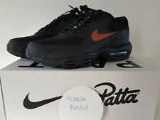 Nike X Patta Air Max 90-95 US 10 Publicity! Wohooow! Black Brown Brand New DS