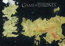 """GAME OF THRONES WESTEROS MAP POSTER HUGE 39x55"""" NEW ROLLED #ssep15"""