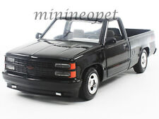 MOTORMAX 73203 1992 92 CHEVROLET 454 SS PICK UP TRUCK 1/24 DIECAST BLACK