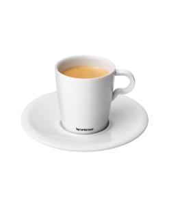 NESPRESSO Professional Collection - 2 Espresso Cups & 2 Saucers