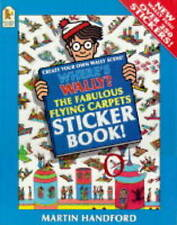 Where's Wally?: Fabulous Flying Carpets Sticker Book,Handford, Martin,Very Good