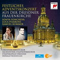 SONYA STAATSKAPELLE DRESDEN/RUNNICLES/YONCHEVA-FESTL.ADVENTSKONZERT 2015 CD NEU