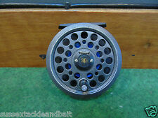 jw young feflex 1415 fly reel 3 1/2 inch trout fly reel used fly fishing gear