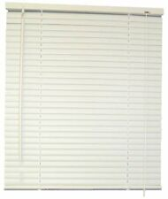 Designer's Touch 1-Inch Vinyl Mini Blinds, White, 39X72 in. -833422, 39 x 72 x 1