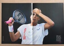 JENNIFER CAPRIATI Original Vintage Australian Tennis Magazine Poster
