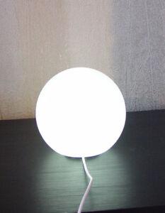 Globe Salt Lamp White USB 1-2kg Therapeutic Himalayan Crystal Light